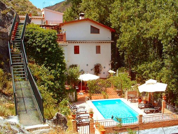 Andalusian farmhouse in Monachil, Granada
